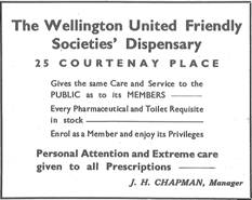 An advertisement from 1936. The address has changed but the service hasn't.